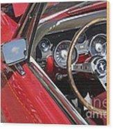 Mustang Classic Interior Wood Print