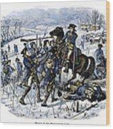 Mutiny: Anthony Wayne 1781 Wood Print by Granger