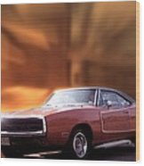 My 70 Charger 440 Six Pack Wood Print
