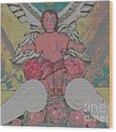 My Angel - Eglise De Sainte Anne - Church - Ile De La Reunion - Reunion Island Wood Print by Francoise Leandre