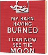 My Barn Red Wood Print