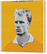 My Bergkamp Soccer Legend Poster Wood Print