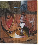 My Bosch 3 Wood Print