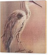 My Crane Wood Print