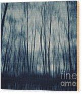 My Dark Forest Wood Print