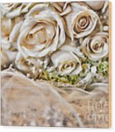 My Daughter's Bouquet By Diana Sainz Wood Print