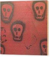 Devil At Large Wood Print