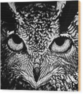 My Eyes Have Seen You Wood Print