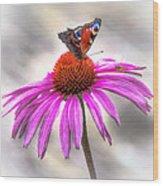 My Flower Wood Print