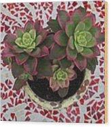 My Garden Series - Mosaica Wood Print