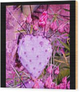 My Heart Pains Me To Be Without You 3 Wood Print