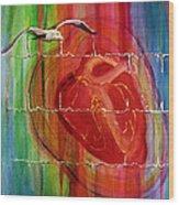 My Hearts  Echo Wood Print