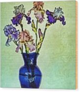 My Iris Vincent's Genius Wood Print