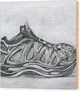 My Left Foot Wood Print