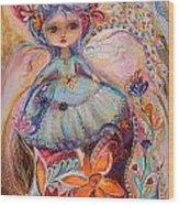 My Little Fairy Malvina Wood Print