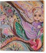 My Little Fairy Nicole Wood Print