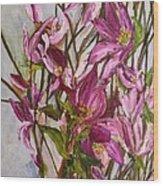 My Magnolias Bliss Wood Print