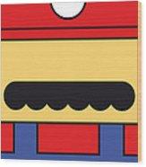My Mariobros Fig 01 Minimal Poster Wood Print