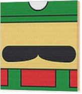 My Mariobros Fig 02 Minimal Poster Wood Print by Chungkong Art