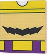 My Mariobros Fig 04 Minimal Poster Wood Print by Chungkong Art
