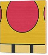 My Mariobros Fig 05c Minimal Poster Wood Print by Chungkong Art