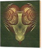 My Mechanical Mantis Wood Print