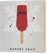 My Muppet Ice Pop - Animal Wood Print