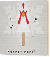 My Muppet Ice Pop - Camilla Wood Print by Chungkong Art