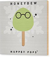 My Muppet Ice Pop - Dr Bunsen Honeydew Wood Print