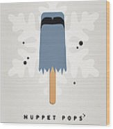 My Muppet Ice Pop - Sam The Eagle Wood Print