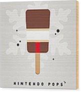 My Nintendo Ice Pop - Donkey Kong Wood Print by Chungkong Art