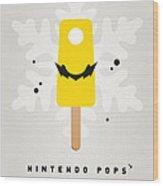 My Nintendo Ice Pop - Wario Wood Print by Chungkong Art