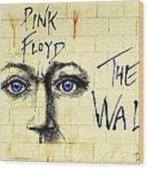 My Pink Floyd Wall Wood Print by Todd Spaur
