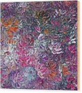 My Pretty Purple  Pallet Wood Print