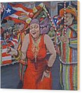 My Puerto Rican Parade Wood Print