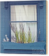 My San Francisco Window Garden Wood Print