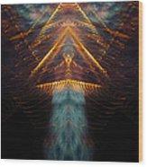 My Soul Takes Flight Wood Print