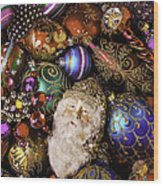 My Special Christmas Ornaments Wood Print