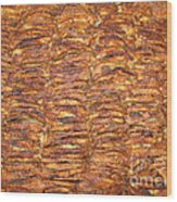 My Special Hommemade Apple Cake Wood Print