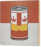 My Star Warhols Luke Skywalker Minimal Can Poster Wood Print