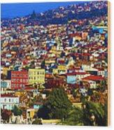 My Valparaiso Wood Print