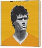 My Van Basten Soccer Legend Poster Wood Print