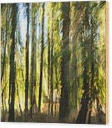 My Van Gogh. Wood Print