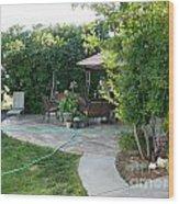 My Yard Love Wood Print by Jeff Pickett
