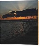 Myers Sunset Wood Print