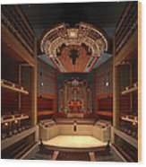 Myerson Symphony Center Auditorium - Dallas Wood Print