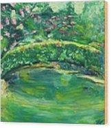Mynelle Gardens Wood Print