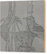 Mynest Wood Print
