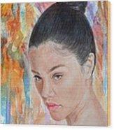 Myra Molloy Winner Of Thailand Got Talent II Wood Print by Jim Fitzpatrick