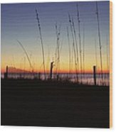 Myrtle Beach Sunrise Wood Print